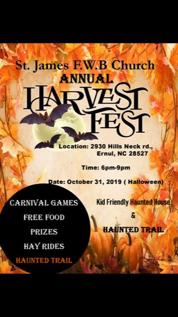 St James Church Annual Harvest Fest
