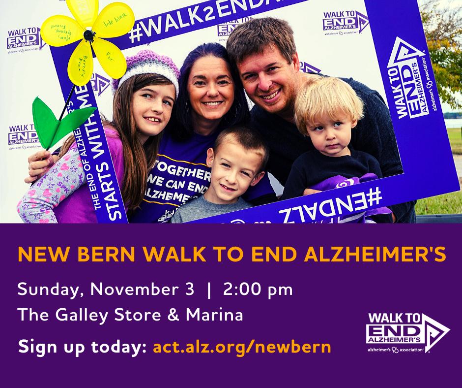 New Bern Walk to End Alzheimer's