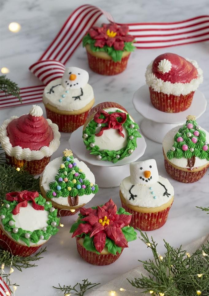 New Bern Parks and Recreation presents Inspired Cupcakes for Christmas