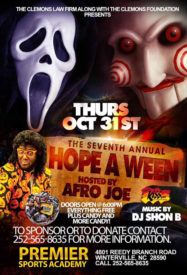 The Clemons Law FirmThe Seventh Annual Hope A Ween