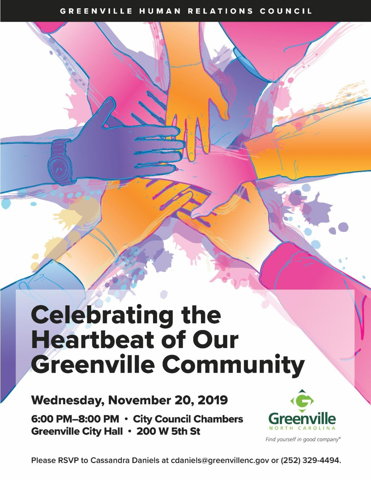 CELEBRATING THE HEARTBEAT OF OUR GREENVILLE COMMUNITY