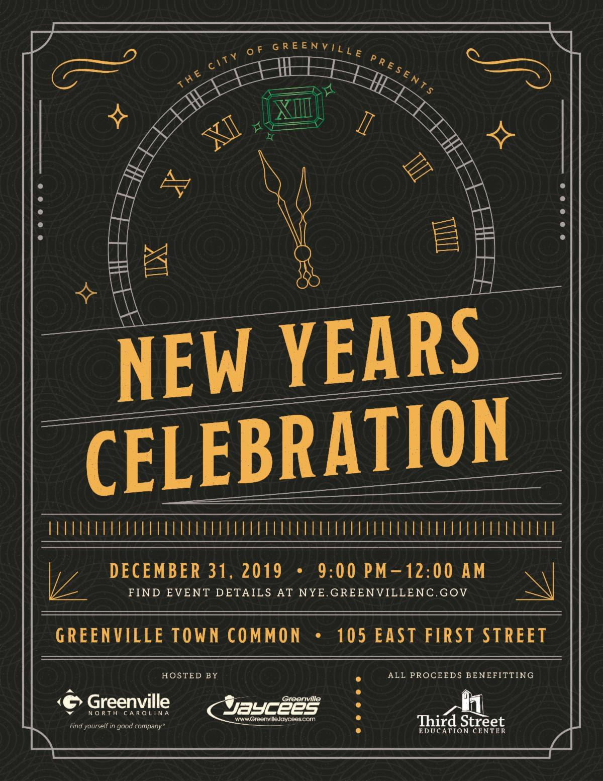 New Years EVE CELEBRATION GREENVILLE