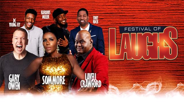 Festival of Laughs ft. Sommore, Gary Owen, Lavell Crawford, Tony Rock, DC Young Fly & Karlous Miller