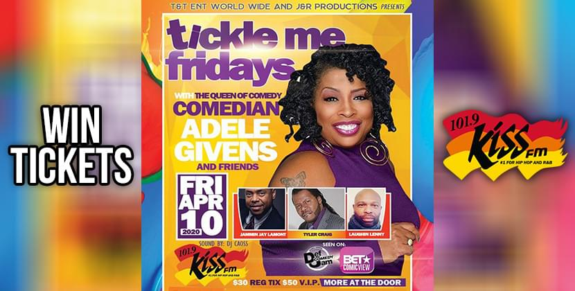 Win Tickets To The Tickle Me Fridays Comedy Show