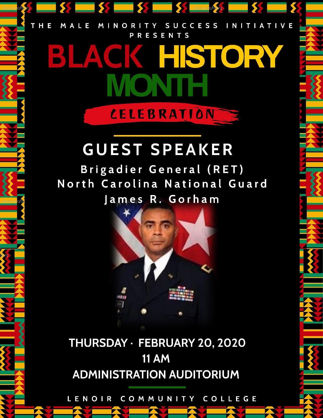 Lenoir Community College's Annual Black History Month Program