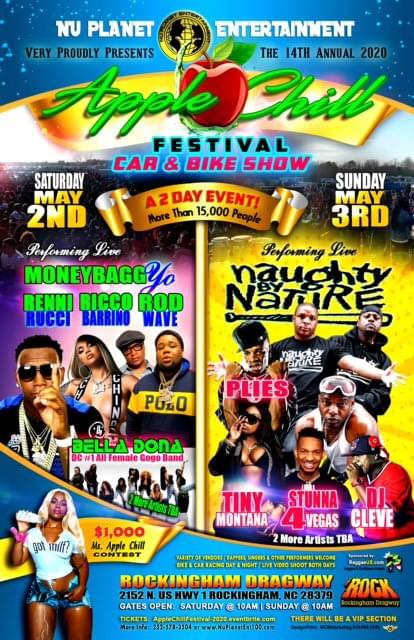 Nu Planet Ent Presents Apple Chill Festival 2020