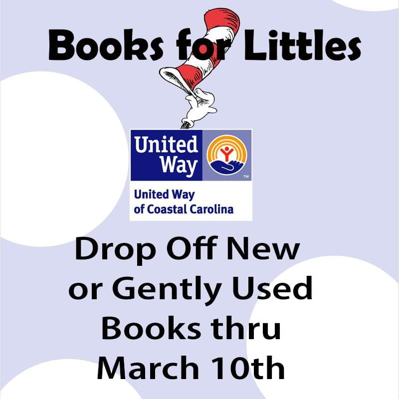 Books for Littles – United Way is collecting Books for Tots to Teens