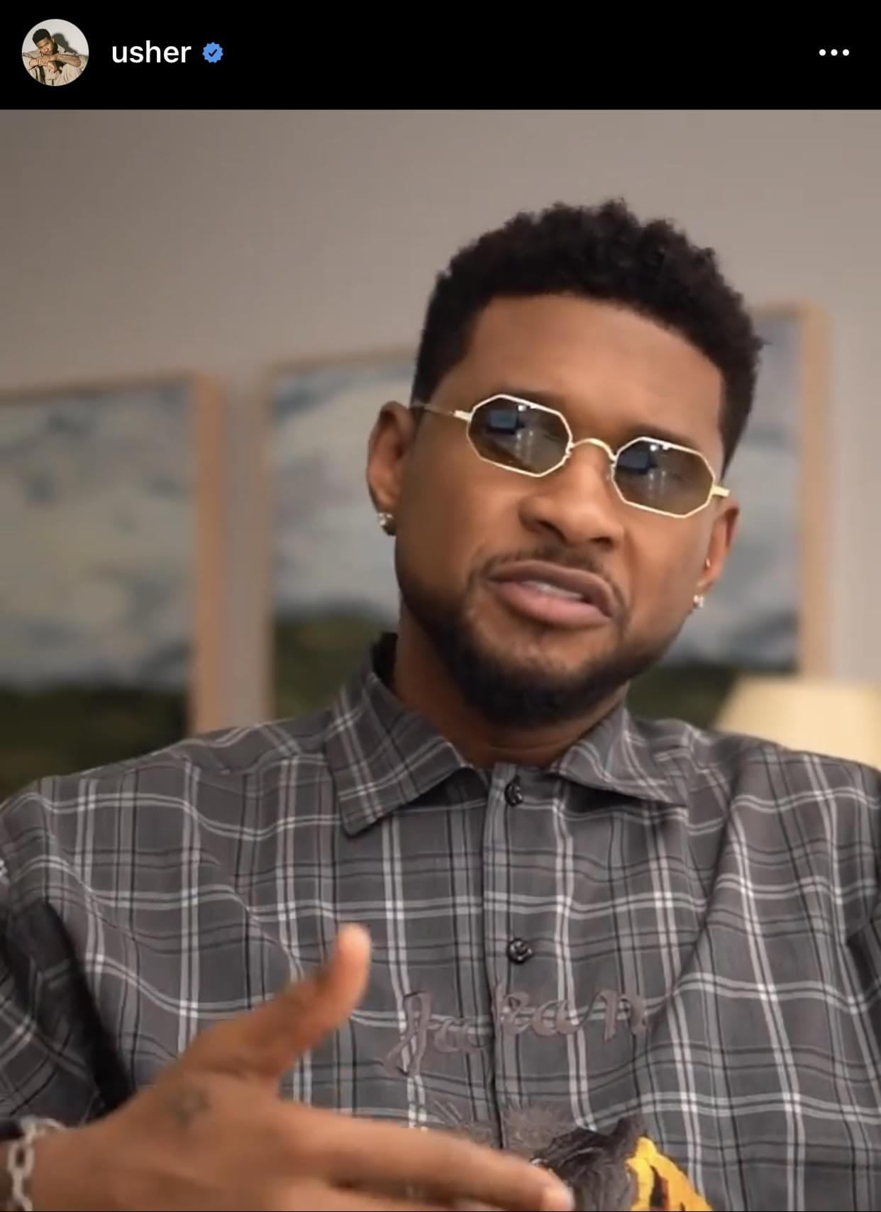 Usher encourages fans to text him on his REAL number via Instagram [VIDEO]