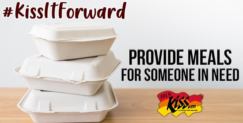 We want to provide a family in need with a warm meal! #KissItForward
