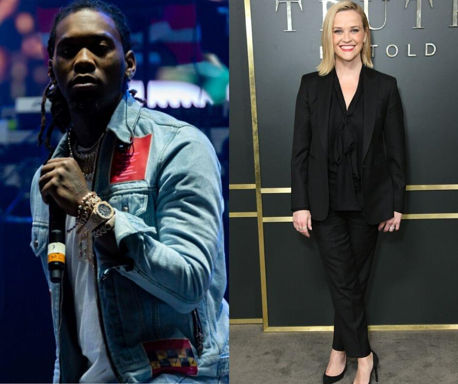 Offset & Reese Witherspoon Get on IG Live Together