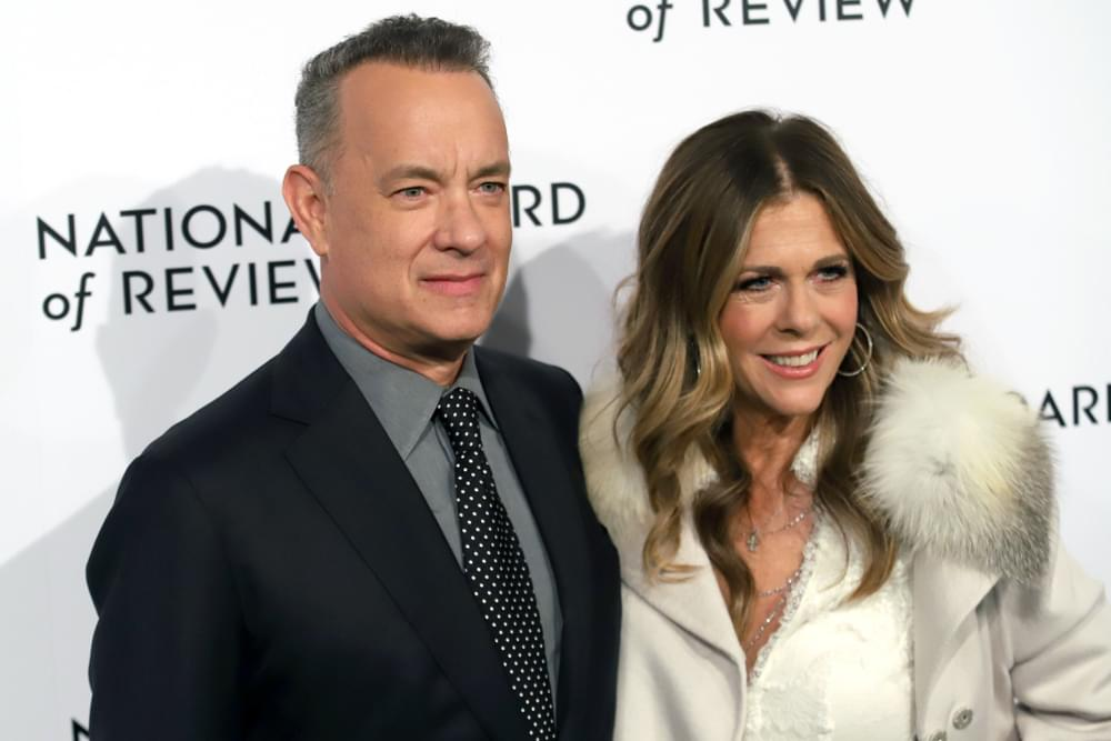 Tom Hanks and Rite Wilson Want to Donate Blood to COVID-19 Research