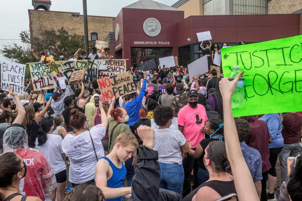 Protests Intensify In Minneapolis, Los Angeles & Memphis