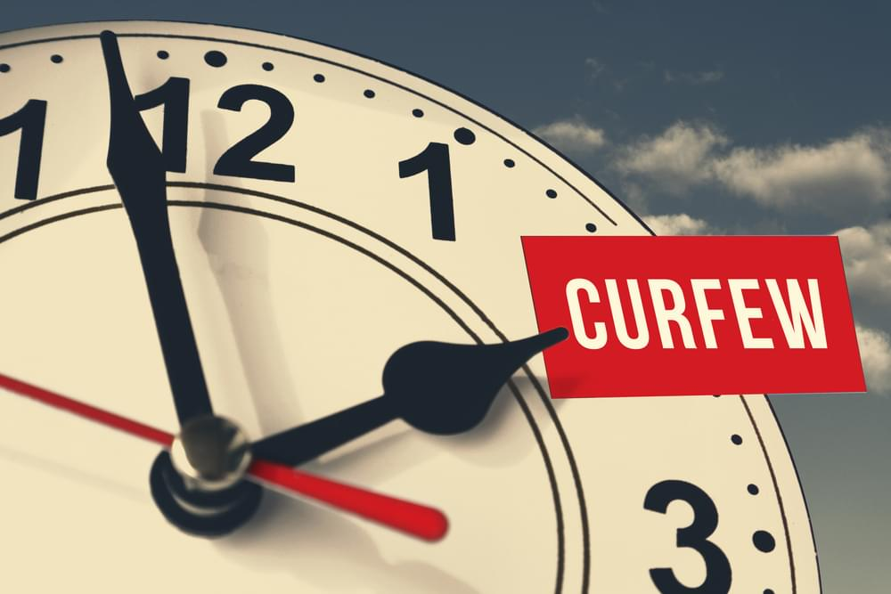 Curfews Going into Effect Around the ENC