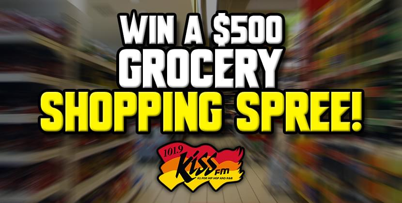 Win a $500 Grocery Shopping Spree!
