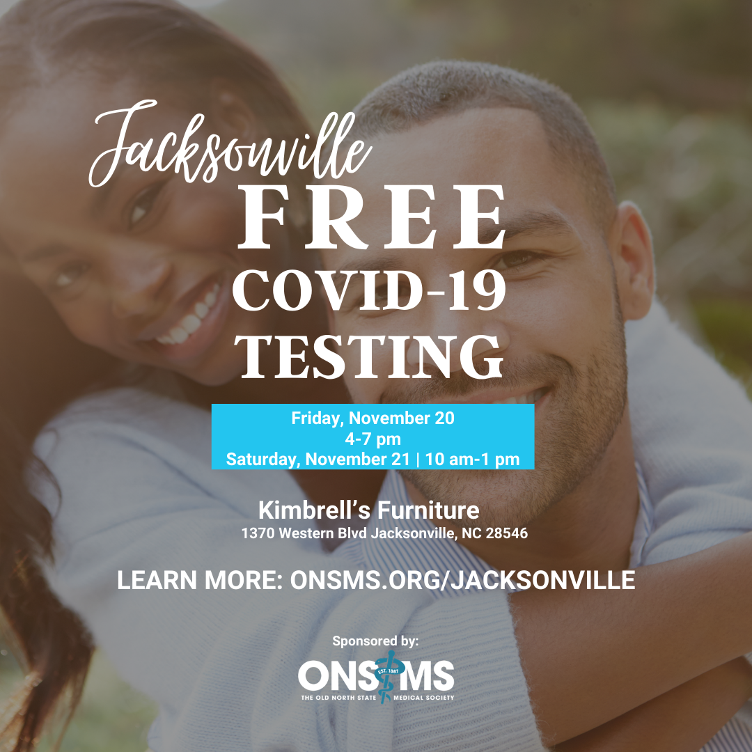 Free COVID-19 Testing for Jacksonville Residents!