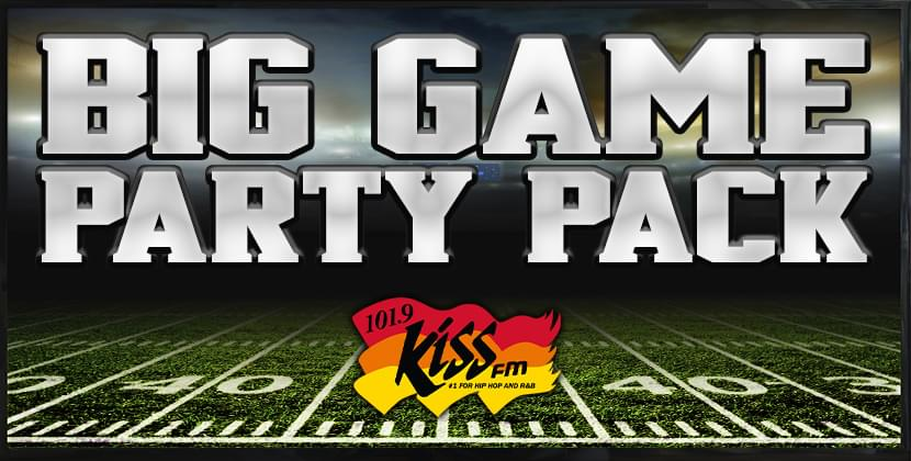Win The Big Game Party Pack