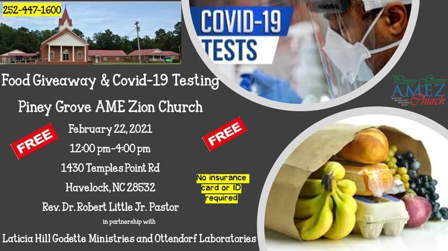 Food Giveaway & COVID-19 Testing