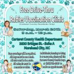 Free Drive-Thru Rabies Vaccination Clinic