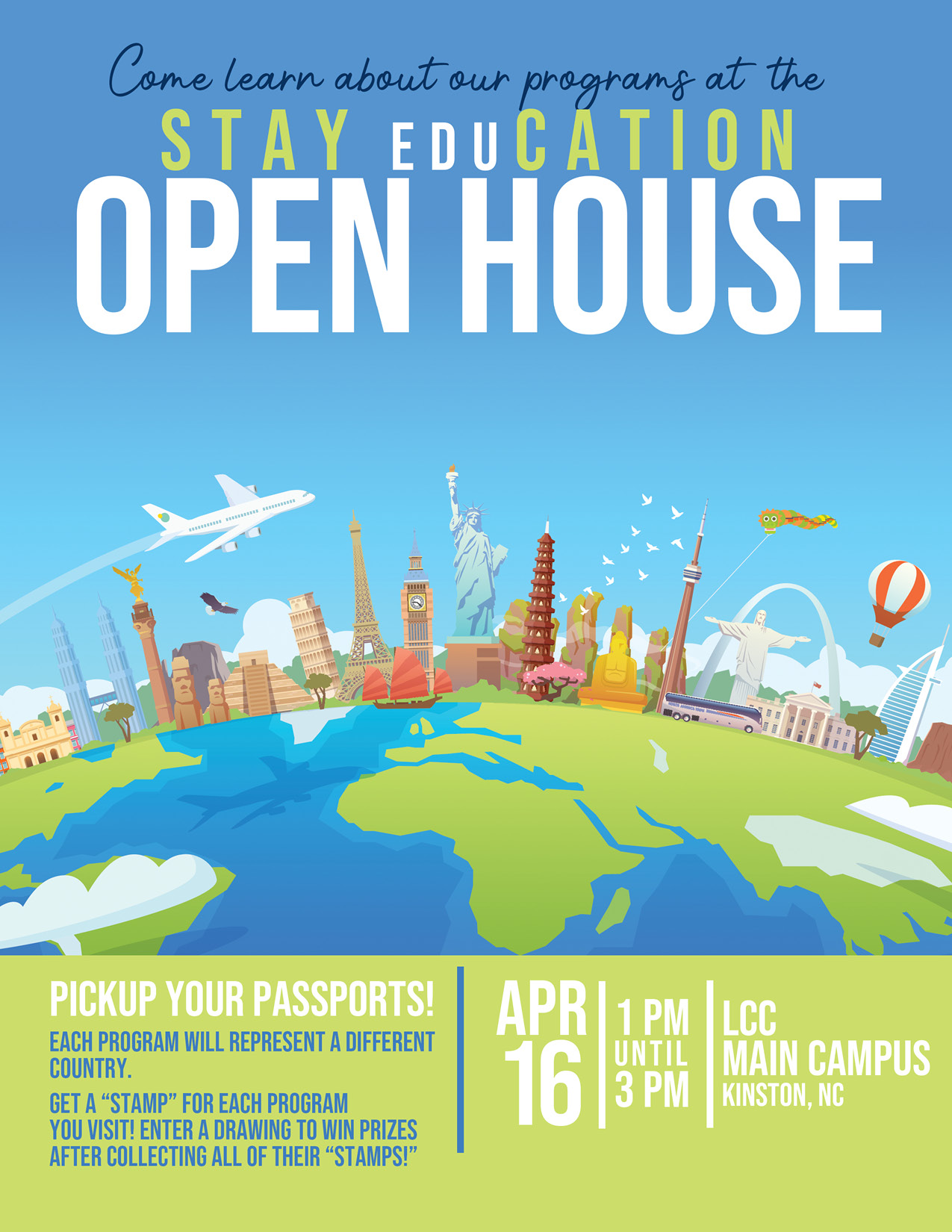 Lenoir Community College Presents: STAY eduCATION OPEN HOUSE!!!