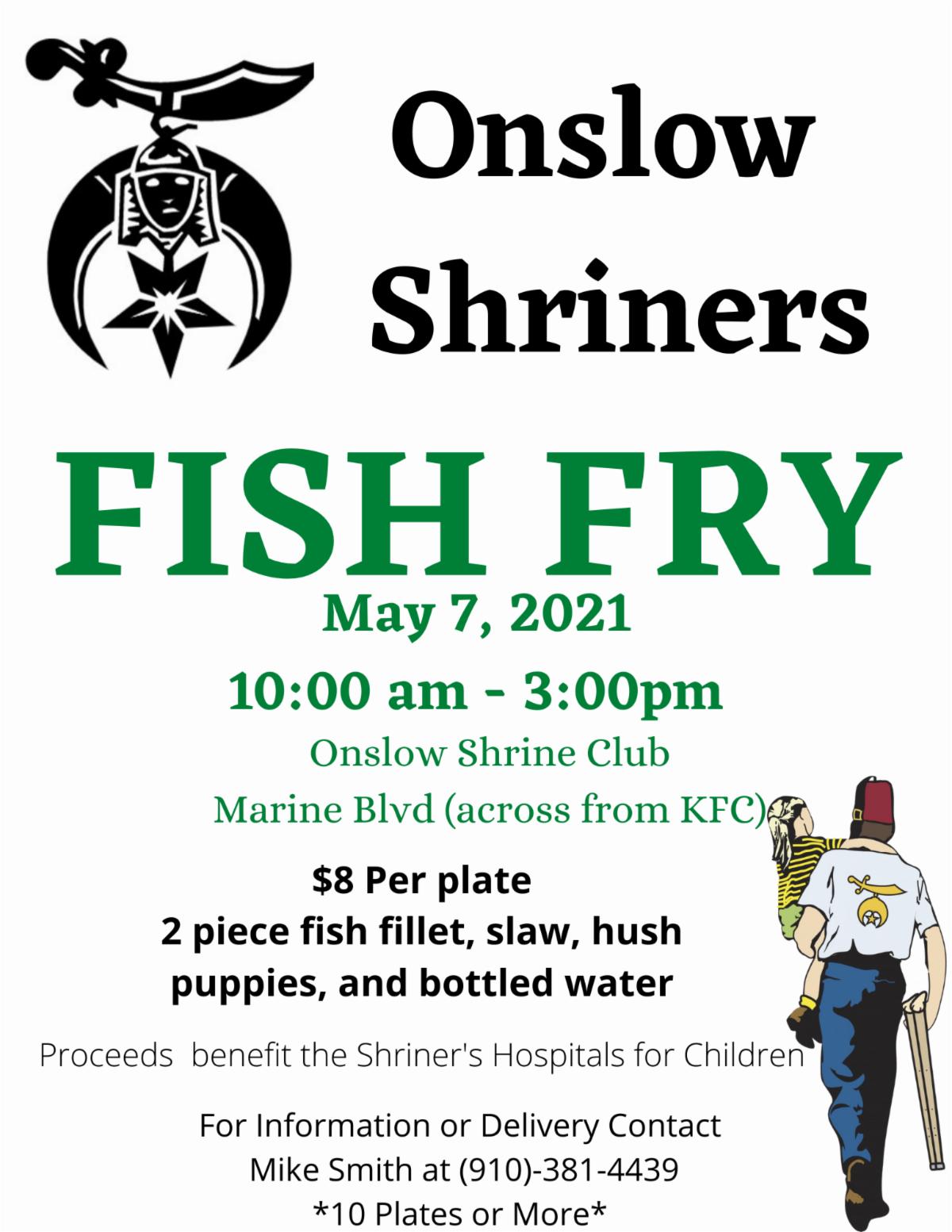 Onslow Shriner's Fish Fry