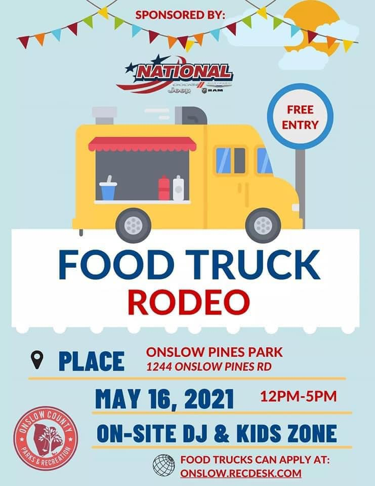 Food Truck Rodeo @ Onslow Pines Park
