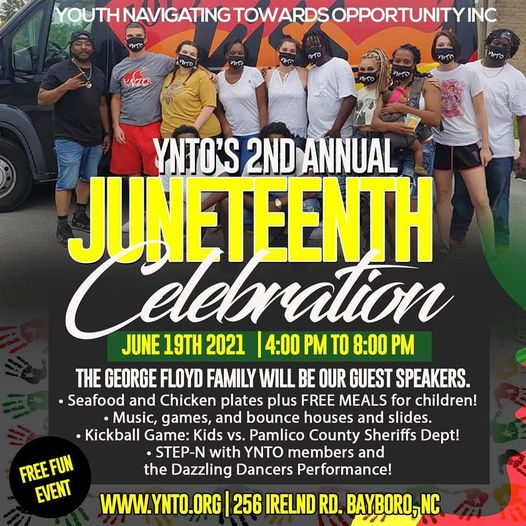 Youth Navigating Towards Opportunity's 2nd Annual Juneteenth Celebration