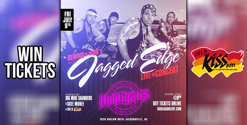 Win tickets to see Jagged Edge Live!
