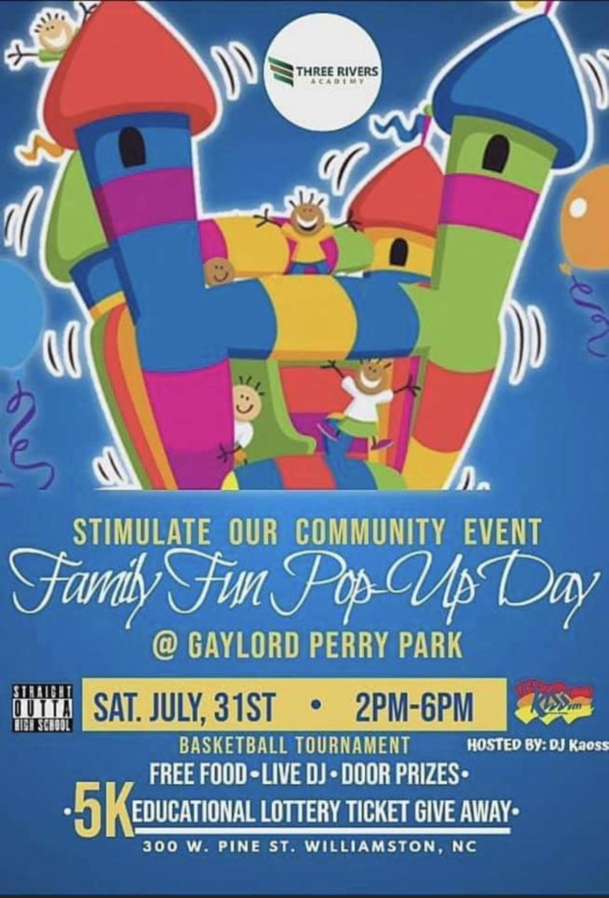 Recap On Three Rivers Academy's Family Fun Day In Williamston,NC