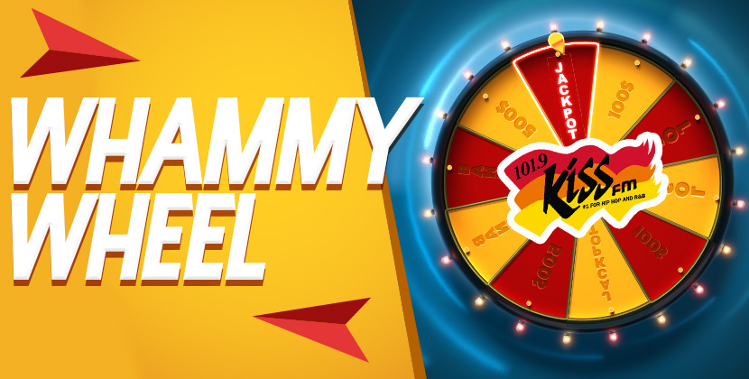 Win Up To $250,000 With The Whammy Wheel!