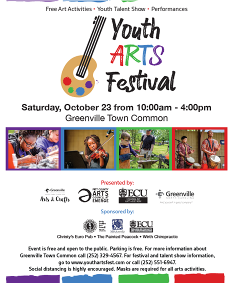 Youth Arts Festival @ Greenville Town Common