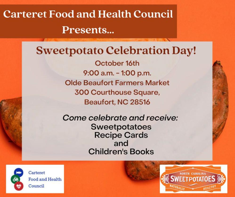 Sweetpotato Celebration Day @ Olde Beaufort Farmers Market