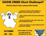 Goose Creek Ghost Challenge!