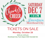 10th Annual Chowder & Cheer!