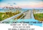 Carteret County Veterans Stand Down!