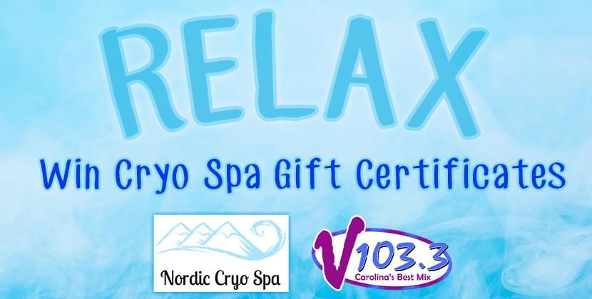 Win Nordic Cryo Spa Gift Certificates!
