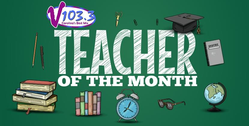 """Nominate Your """"Teacher Of The Month!"""""""