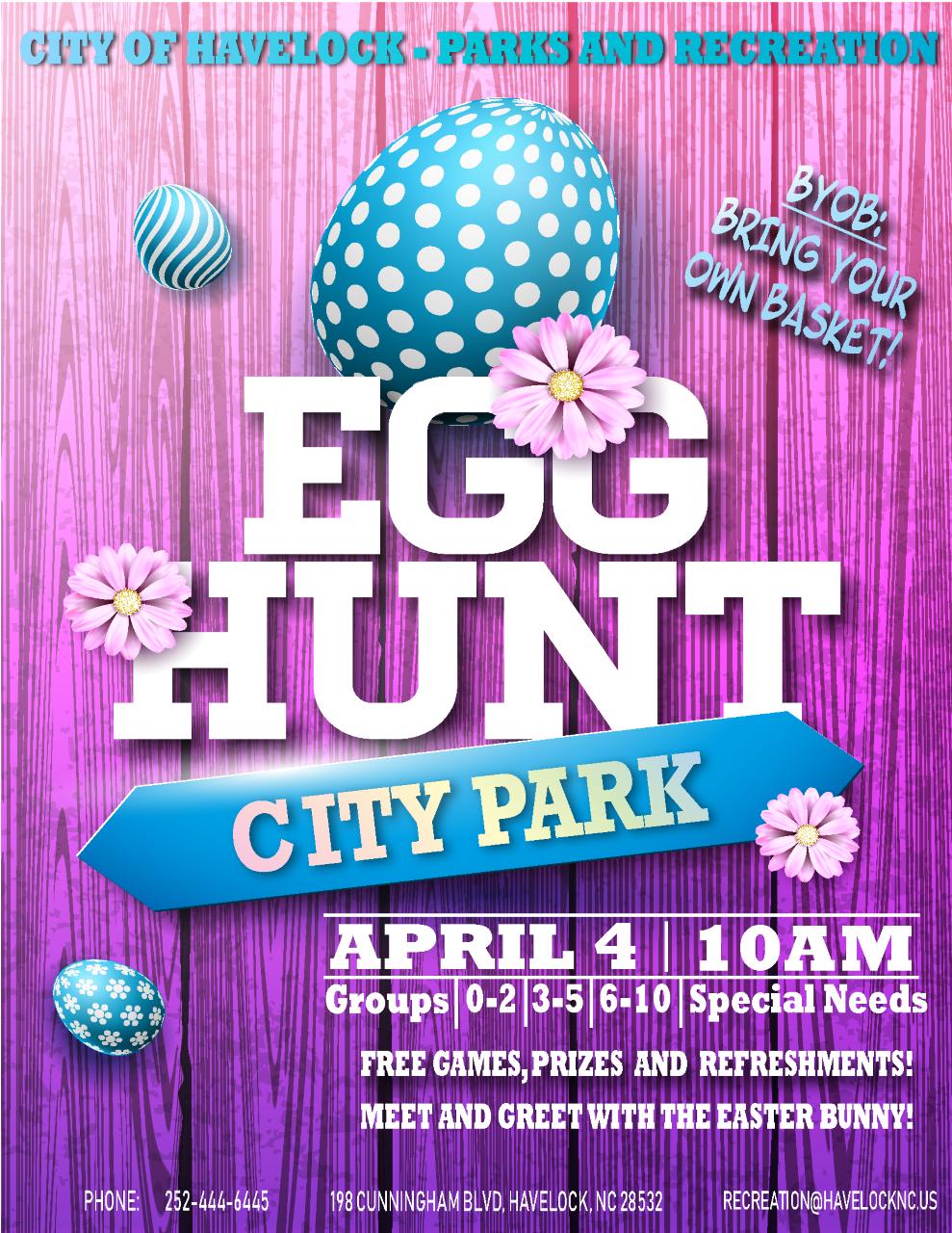 City Of Havelock Easter Egg Hunt