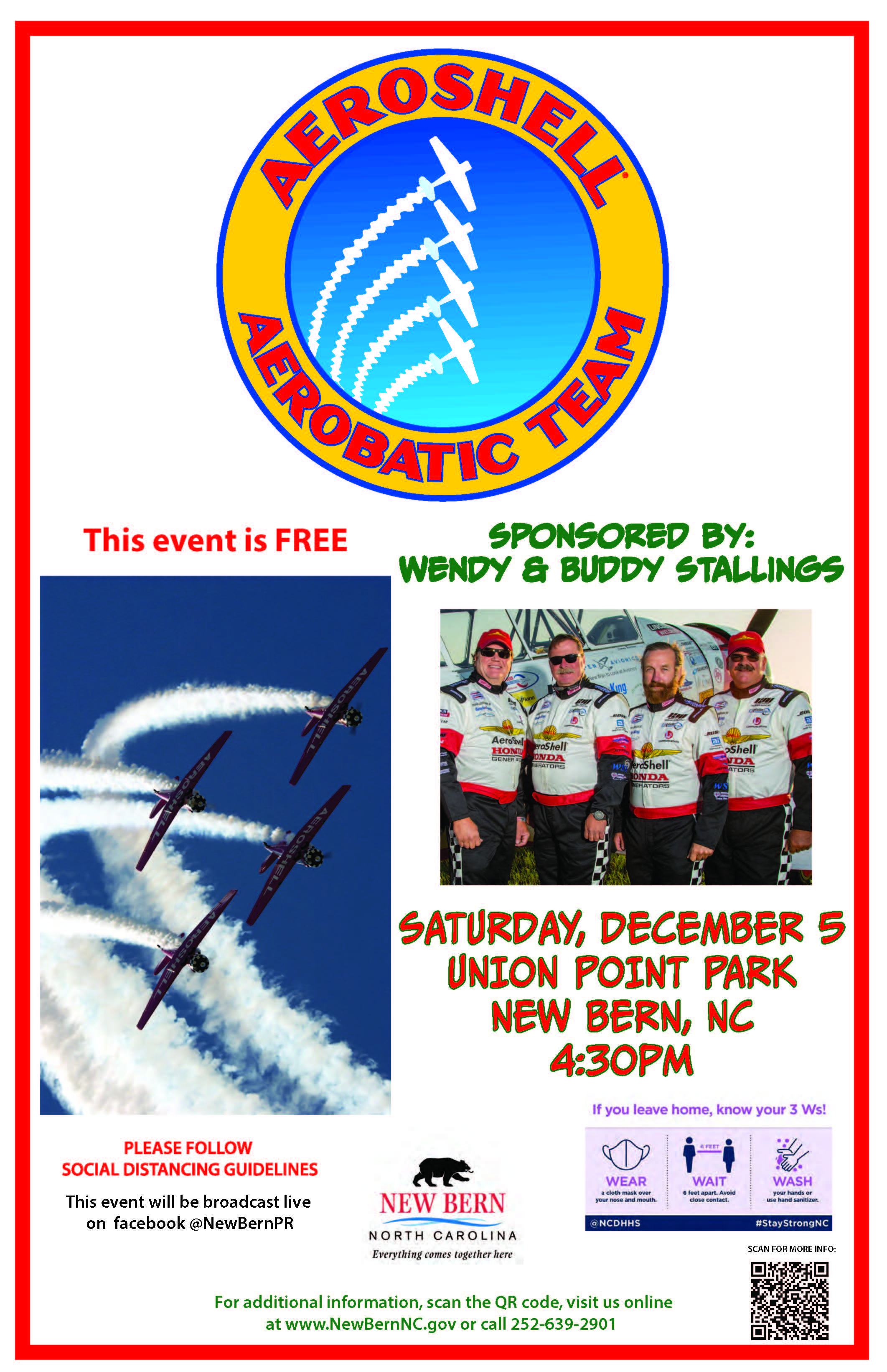 AeroShell Aerobatic Team to Perform Night Show in New Bern