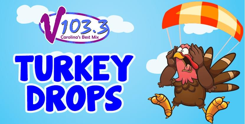 V103.3's Turkey Drops!