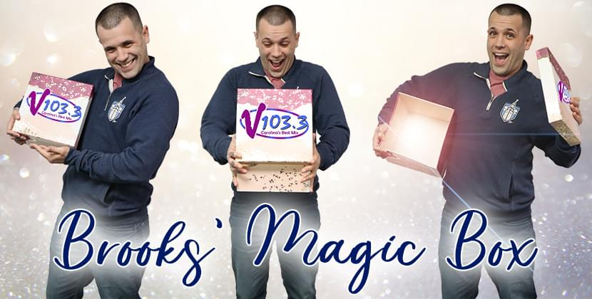 What's In Brooks' Magic Box?!