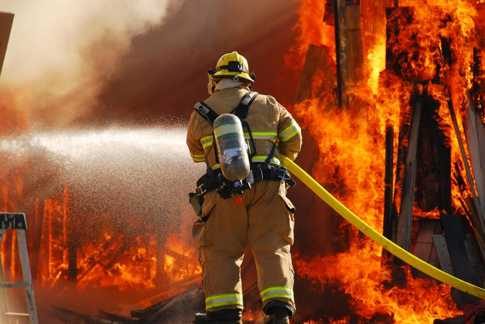 Fire Hoses Are Used For More Than Putting Out Fires