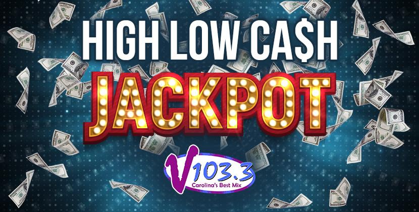 V103.3's At Work High Low Cash Jackpot is BACK!