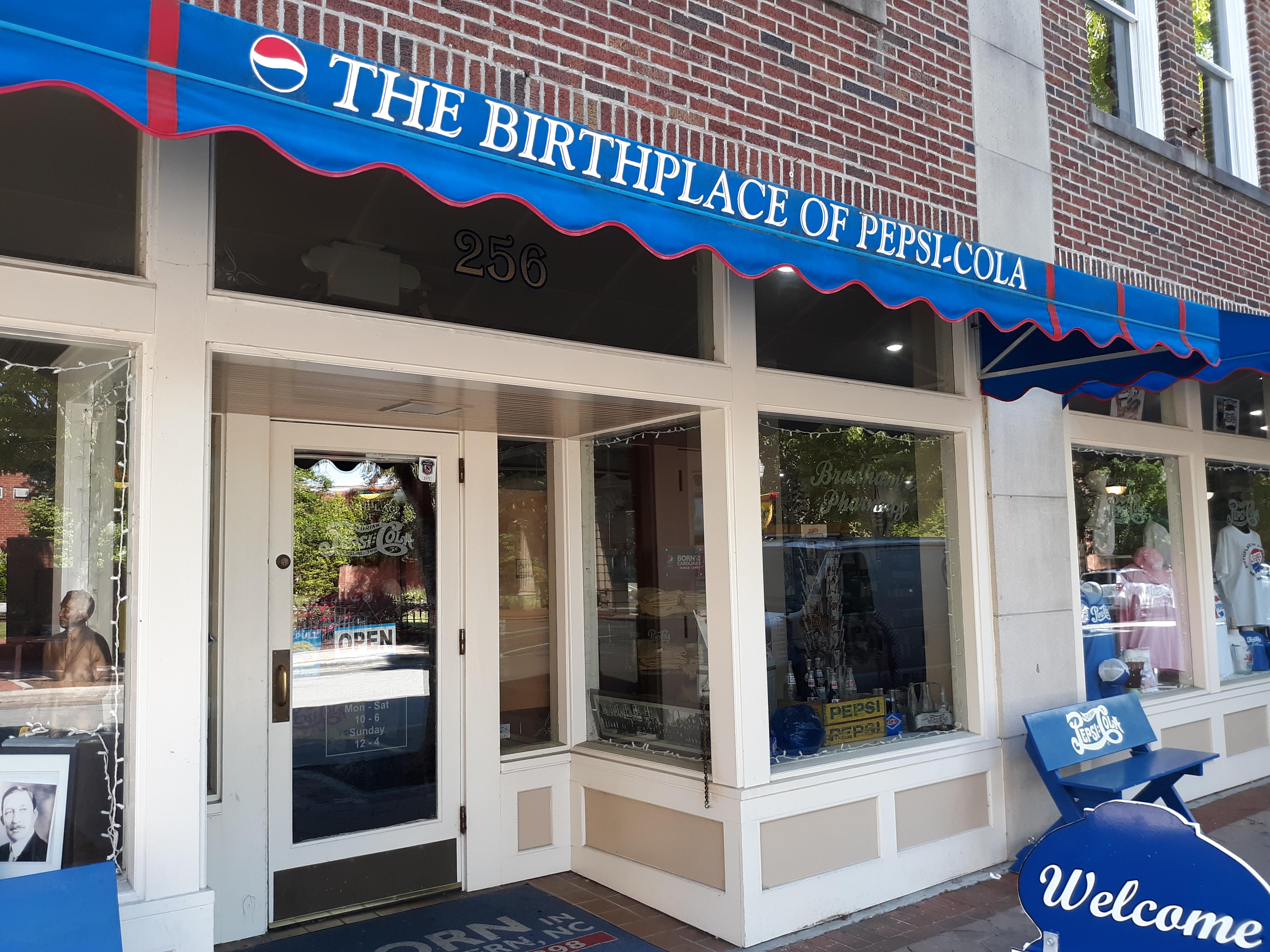 Birthplace Of Pepsi Cola, New Bern