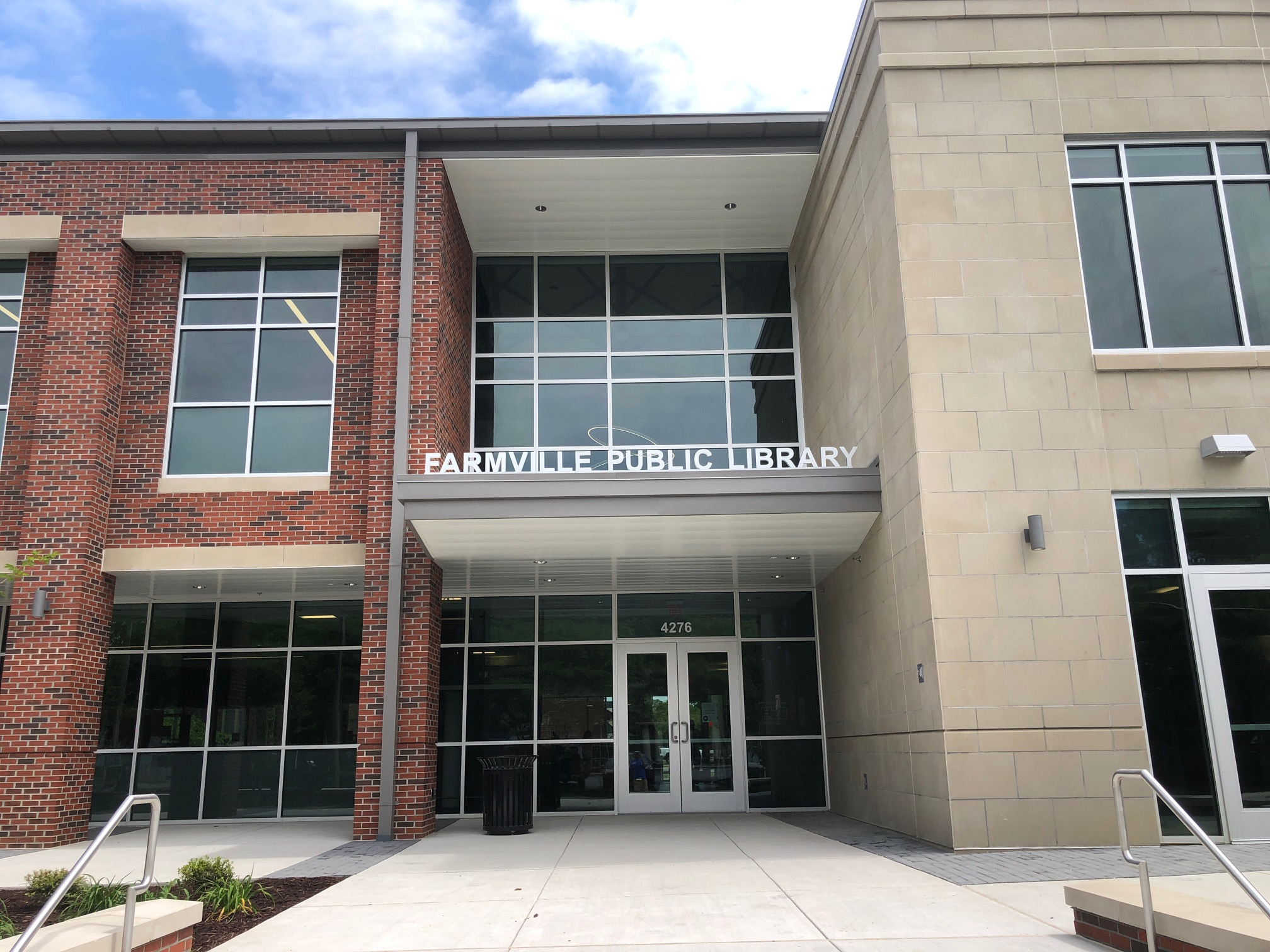 Brand New Farmville Public Library
