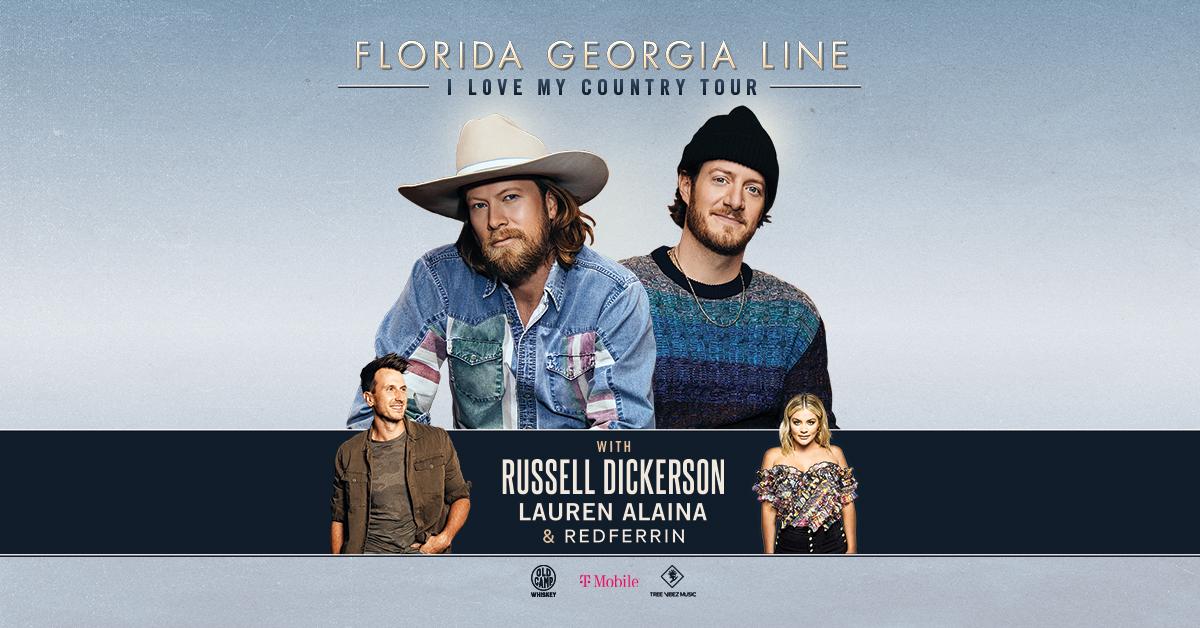 Florida Georgia Line @ Coastal Credit Union Music Park in Raleigh