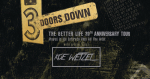 """3 Doors Down """"The Better Life 20th Anniversary Tour"""" @ Coastal Credit Union Music Park At Walnut Creek in Raleigh"""
