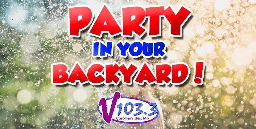 Win V103.3's Backyard Party Pack!