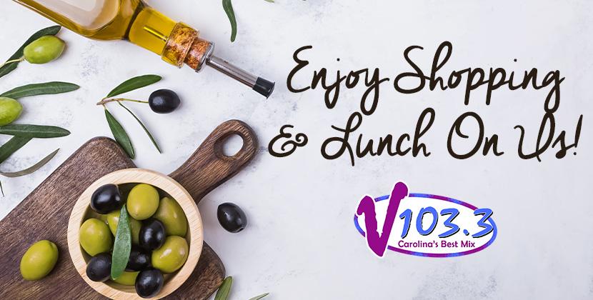 Go Shopping & Enjoy Lunch On Us!