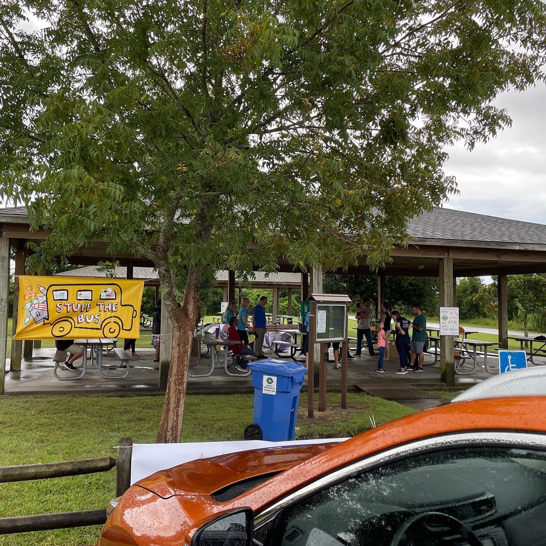 Stuff The Bus At Lawson Creek