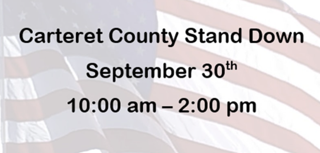 Carteret County Stand Down